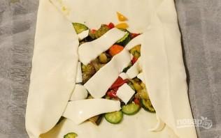 Штрудель с овощами - фото шаг 2