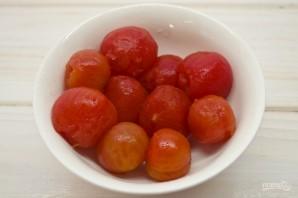 "Суп ""Гаспачо"" из помидоров - фото шаг 2"
