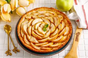 Песочный пирог с вареньем и яблоками - фото шаг 9
