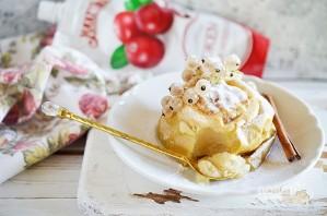 Лучший рецепт печеного яблока с джемом - фото шаг 6