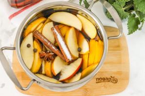 Яблочный пунш - фото шаг 4