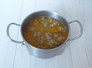 Суп харчо с фрикадельками - фото шаг 10