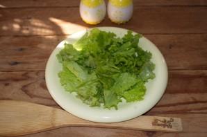Салат с копченой курицей и корейской морковкой - фото шаг 1