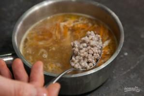 Суп из зеленой гречки простой - фото шаг 7