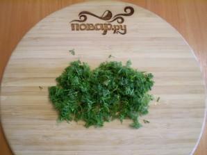 Капустные оладушки на кефире - фото шаг 4