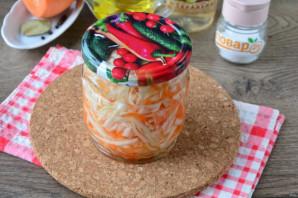 Капуста маринованная с морковью в рассоле - фото шаг 6