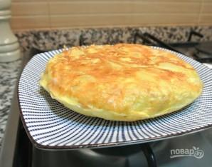 Омлет с картофелем - фото шаг 6