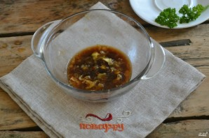 Мясо под сладким соусом - фото шаг 7