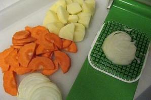 Суп с клёцками без мяса - фото шаг 1
