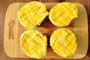 Куриные мини-пироги в горшочках - фото шаг 10
