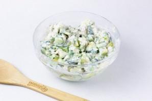 ПП салат с авокадо - фото шаг 6