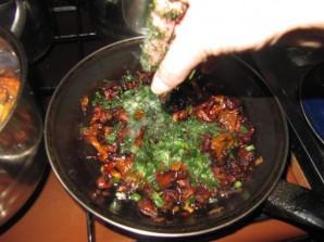 Картофельное пюре с лисичками - фото шаг 5
