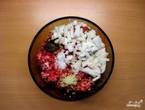 Картофельная запеканка с фаршем и помидорами - фото шаг 2