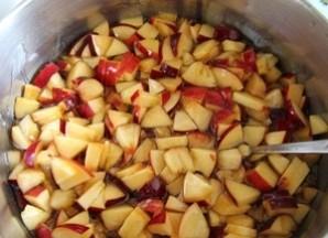 Варенье из персиков в сиропе - фото шаг 3