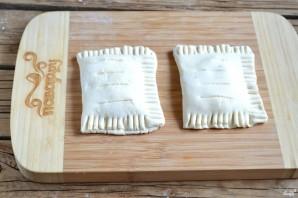 Пирожки из слоеного бездрожжевого теста - фото шаг 4