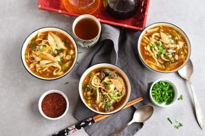 Корейский суп - фото шаг 11