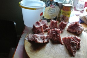 Маринад для свинины на гриле - фото шаг 1