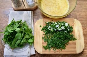 Суп со шпинатом и яйцами - фото шаг 2