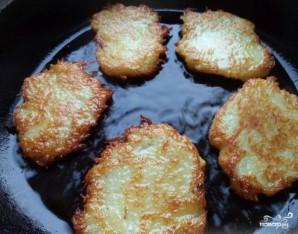 Драники картофельные постные - фото шаг 3