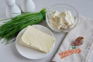 Салат из творога и брынзы - фото шаг 1