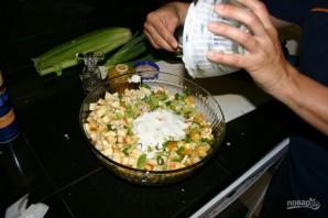 Салат из куриных грудок - фото шаг 8