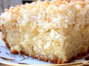 Пирог с кокосовым штрейзелем - фото шаг 9