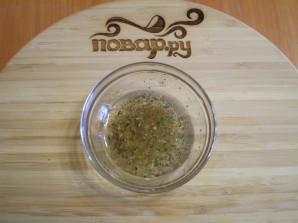 Салат из свежих грибов шампиньонов - фото шаг 3