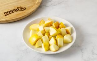 Запеченная тыква с яблоками - фото шаг 4