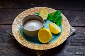 Напиток с мятой и лимоном - фото шаг 1