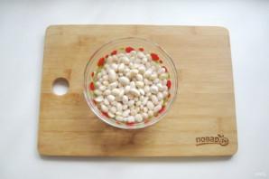 Томатный суп с фасолью и курицей - фото шаг 2