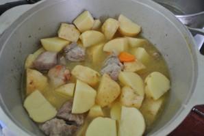 Жаркое из говядины с картошкой - фото шаг 6