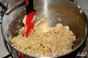 Овсяное печенье с грецкими орехами - фото шаг 2