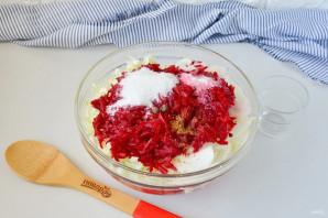 Салат с капустой на зиму - фото шаг 5
