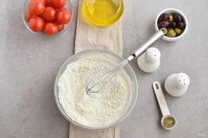 Греческий пирог с козьим сыром - фото шаг 3