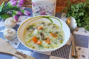 Грибной суп с молоком - фото шаг 10