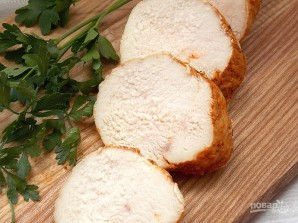 Бутербродная куриная грудка - фото шаг 9