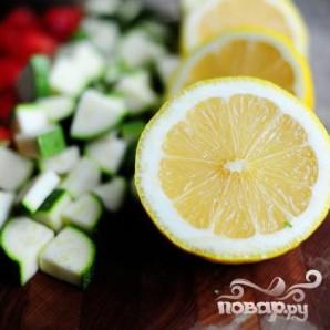 Паста салат с помидорами, цукини, и сыром Фета - фото шаг 8