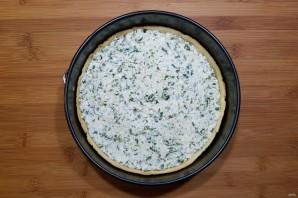 Киш со шпинатом и сыром - фото шаг 12