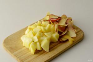Яблочная каша - фото шаг 3