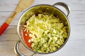 Салат из кабачков от Ирины Хлебниковой - фото шаг 3