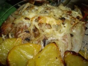 Картофель с ребрышками в духовке - фото шаг 3