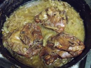 Куриные бедра по-турецки - фото шаг 6