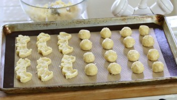 Ванильное кокосовое печенье - фото шаг 5