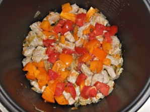 Суп с галушками в мультиварке - фото шаг 3