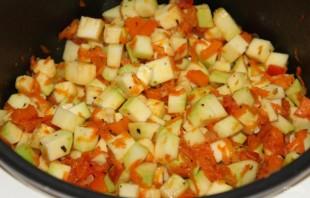 Овощное рагу из кабачков - фото шаг 3