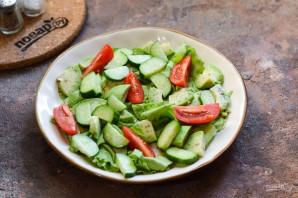 Салат с авокадо и перепелиными яйцами - фото шаг 5