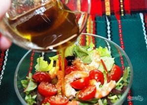 Легкий салат с креветками - фото шаг 3