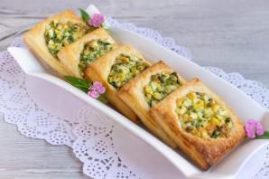 Быстрые пирожки с зеленью - фото шаг 7