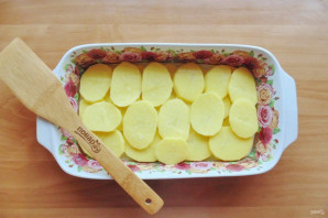Чевапчичи с картошкой в духовке - фото шаг 9