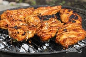 Куриные грудки на гриле (маринад с лимоном) - фото шаг 8